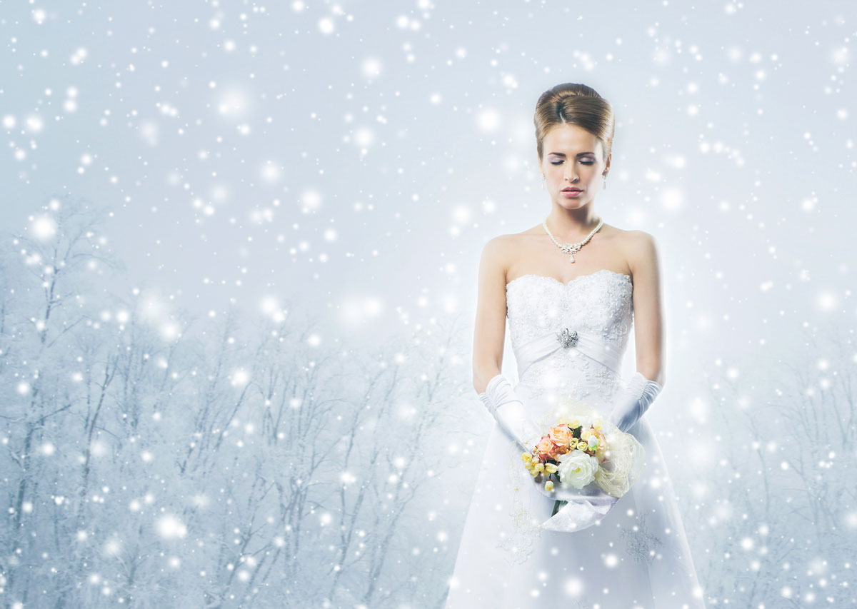 Winter Weddings with Titanium